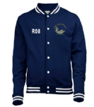 HMS QE Unisex stylish jacket(Front) ~ OFFICIALLY LICENCED PRODUCT